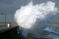 Взрывно волна Стоковое Изображение