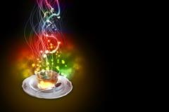 Взрывчатка чая мяты Стоковое фото RF