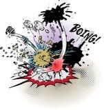 взрывы книги шуточные Стоковые Фотографии RF