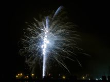 Взрывы Нового Года стоковое фото rf