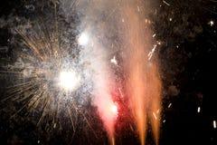 взрывы Стоковые Изображения