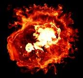 взрывы Стоковое Изображение RF