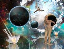 Взрыв бога бесплатная иллюстрация