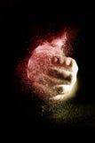 Взрыв воздушного шара воды Стоковое Изображение