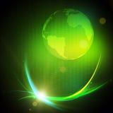 Взрыв волны Gravitaional Стоковая Фотография RF