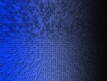 Взрыв голубой черноты Стоковое фото RF