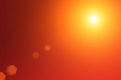 взрыв излучает красный shine иллюстрация вектора