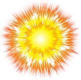 взрыв искусства иллюстрация вектора