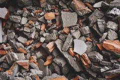 Взрыв или бедствие ater здания краха стоковые фотографии rf