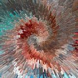 Взрыв. Предпосылка текстурированная конспектом. иллюстрация вектора