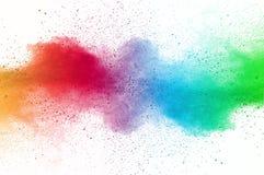 Взрыв пыли Стоковое Фото