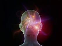 Взрыв разума Стоковое Изображение RF
