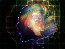 Взрыв разума Стоковые Фотографии RF