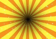 взрыв ретро Иллюстрация вектора