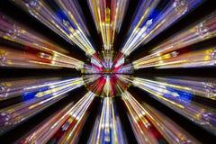 Взрыв сигнала окна цветного стекла Стоковые Фото