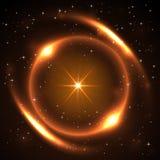 Взрыв солнца иллюстрация штока