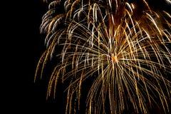 Взрыв фейерверков Стоковые Фото