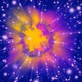 взрыв цвета Стоковая Фотография