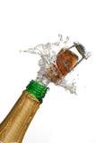 взрыв шампанского Стоковое фото RF