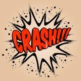 Взрыв шаржа Стоковая Фотография RF