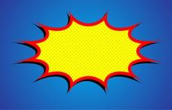 Взрыв шаржа Стоковые Изображения RF