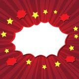 Взрыв шаржа Стоковое Фото