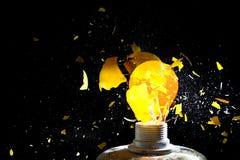Взрыв шарика стоковые изображения