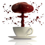 взрыв шоколада горячий Стоковое Изображение