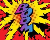 взрыв Стоковое Изображение RF