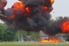 Взрыв Стоковые Фото