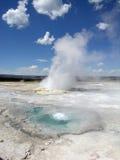 взрыв geyshicular Стоковое фото RF