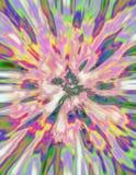 взрыв phycedelic Стоковая Фотография