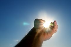 взятие солнца стоковое изображение rf