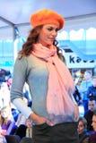 Взлётно-посадочная дорожка людей моды падения зимы Стоковая Фотография RF