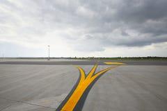 Взлётно-посадочная дорожка Стоковая Фотография