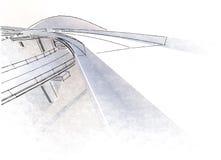 Виадук чертежа Стоковое фото RF