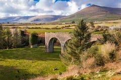 Виадук Lispole Полуостров Dingle Керри Ирландия Стоковые Фото