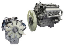 двигатели Стоковые Фотографии RF