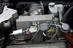 двигатель автомобиля старый Стоковая Фотография