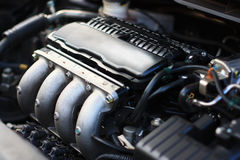 двигатель 4 цилиндров Стоковая Фотография
