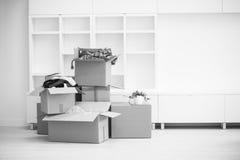 двигать коробок Стоковое Изображение