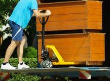 двигать мебели Стоковая Фотография RF