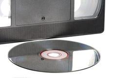 видео диска кассеты Стоковое Изображение RF