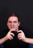 видео игрока игры подростковое Стоковые Фотографии RF