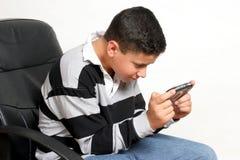 видео игры наркомана стоковое изображение
