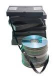 видео кассеты Стоковые Фотографии RF