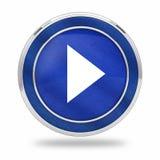 Видео- кнопка 3D игры Стоковое фото RF