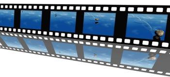 видео пленки Стоковая Фотография