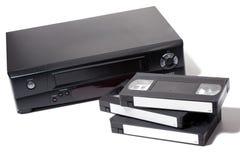 видео рекордера кассеты стоковая фотография