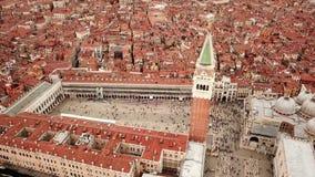 Видео трутня - вид с воздуха Венеции Италии видеоматериал